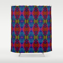 Varietile 50c (Repeating 1) Shower Curtain