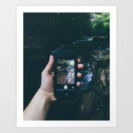 Wilderness: Captured Art Print
