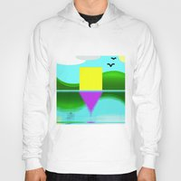 illusion Hoodies featuring Illusion by Cs025