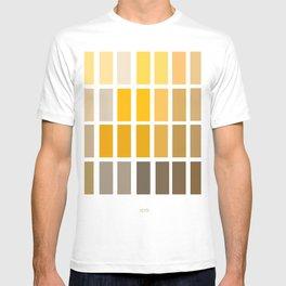 Munsell Chart Art / Archaeology Print/ Color Wheel Art T-shirt