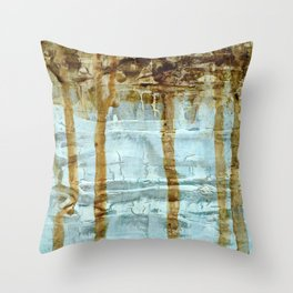 Sediment Throw Pillow