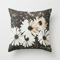 angels Throw Pillows featuring Angels  by Loredana