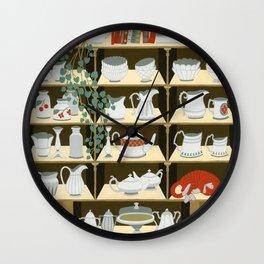 China cabinet Wall Clock