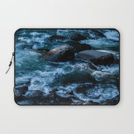 Like Stones Under Rushing Water Laptop Sleeve