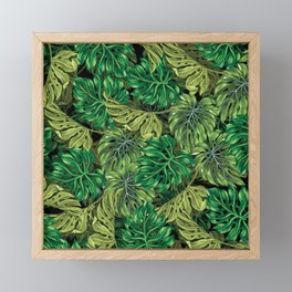 tropical haven 2 Framed Mini Art Print