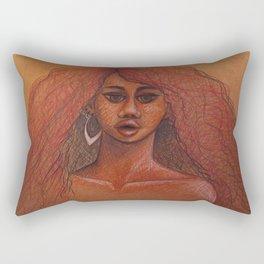 Cheetah Girl Rectangular Pillow