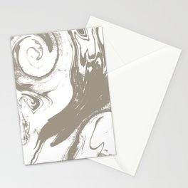 Marble pattern watercolor painting marbling effect cell phone cases with marble Stationery Cards