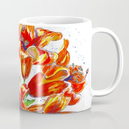 Bright Red Coffee Mug