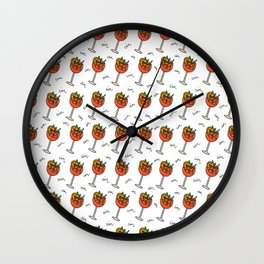 Cin Cin Aperol Cheers Wall Clock