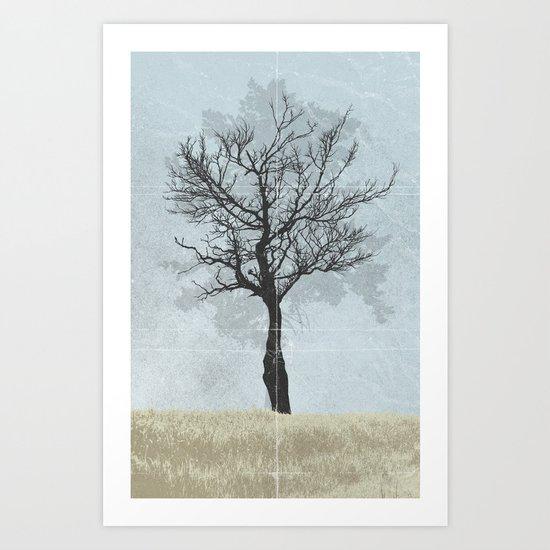 Distance Art Print