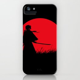 Samurai X iPhone Case
