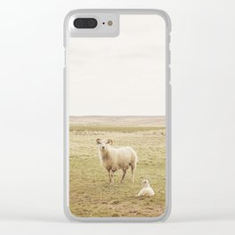 Farm Photography of Sheep Clear iPhone Case