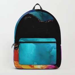 Mountainside Abstract Backpack