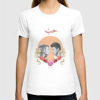 arabic T-shirts featuring Arabic Love by Dima Tannir