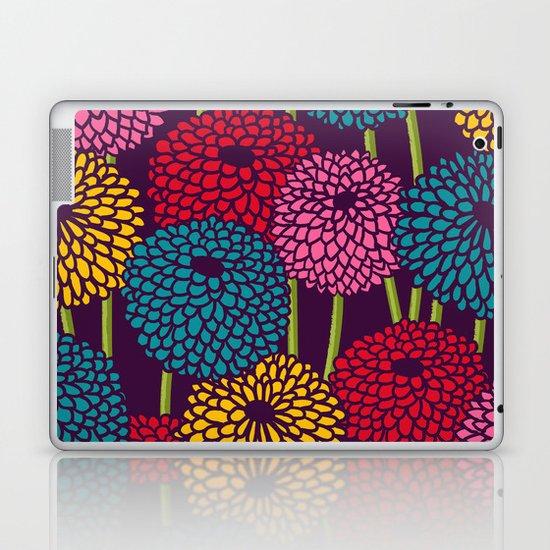 Full of Chrysanth Laptop & iPad Skin