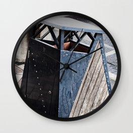 The Garbage Bin Wall Clock