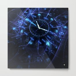 The Time Metal Print