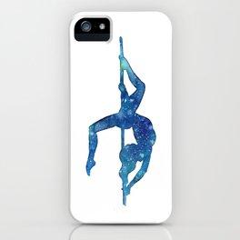 Pole dancer underwater iPhone Case