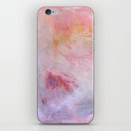 pink abysses three iPhone Skin