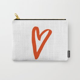 Heart Doodle Big 2 Carry-All Pouch