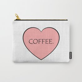 Coffee. Carry-All Pouch