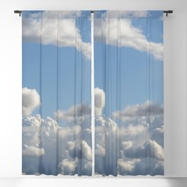 Just Clouds Blackout Curtain