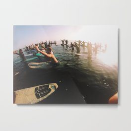 UCSB memorial paddle out Metal Print