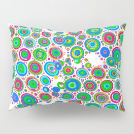 Colorful circles 1 Pillow Sham