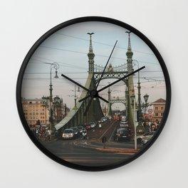 Liberty Bridge, Budapest Wall Clock