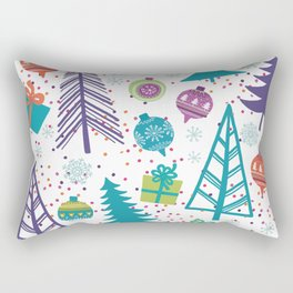 Christmas Pattern 03 Rectangular Pillow