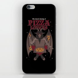 Pizza Lovers iPhone Skin