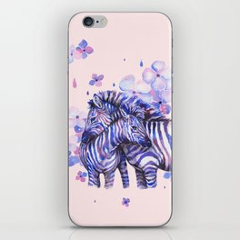Zebras Love - PBG iPhone Skin