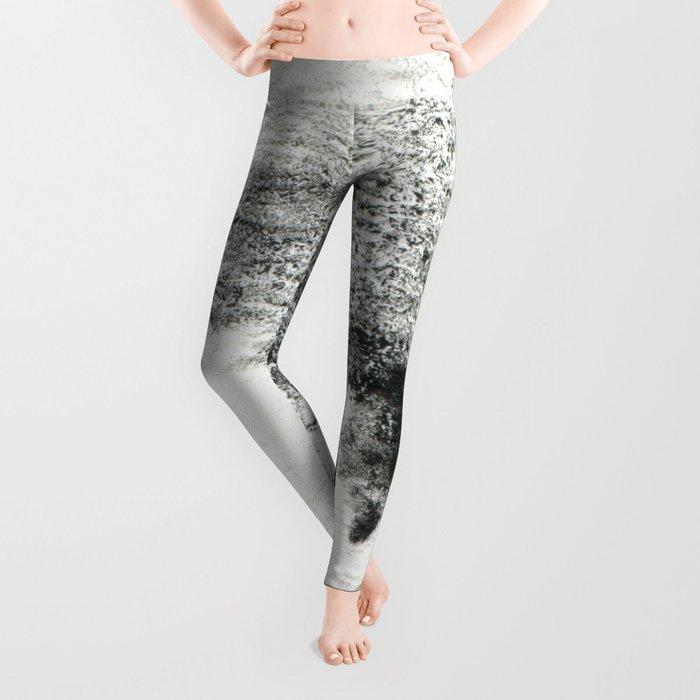 Black/white#2 Leggings