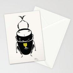 black cricket Stationery Cards