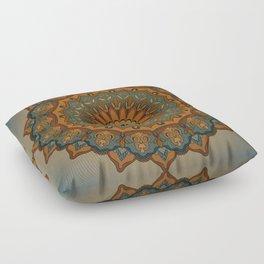 Moroccan sun Floor Pillow
