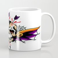 tatoo Mugs featuring Tatoo ART 7 by The Greedy Fox
