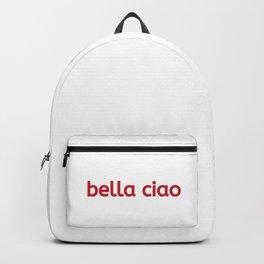 Money Heist Bella ciao netflix Backpack
