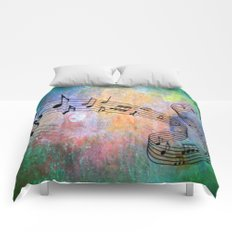 Abstract MUSIC Comforters