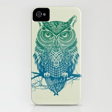 Warrior Owl iPhone (4, 4s) Slim Case