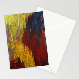 Dripping Color Stationery Cards