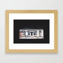 bruxelles /centraal Framed Art Print
