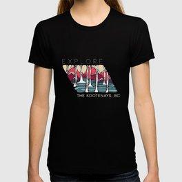Explore the Kootenays, BC T-shirt