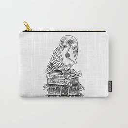 Hedwig On Books Carry-All Pouch
