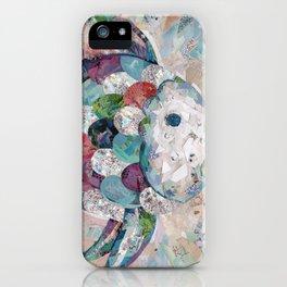 Rainbow Fish Collage iPhone Case