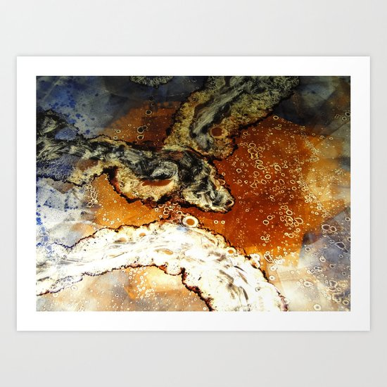 Micro-lume Art Print