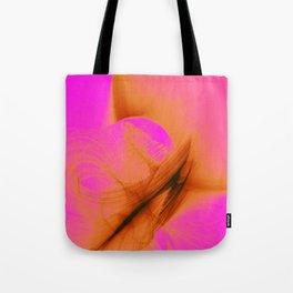Orange Sherbert Tote Bag