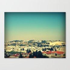 Jerusalem Panorama Canvas Print