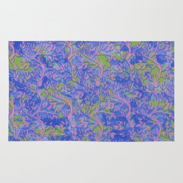 Shoots, Stems and Leaves abstract Rug