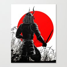 The way of warrior Canvas Print