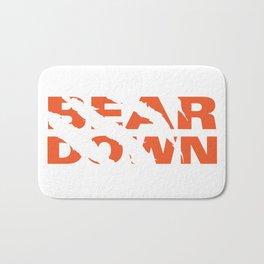 Bear Down Bath Mat